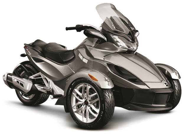 BRP Motors On With New Can-Am Spyder ST Line-Up