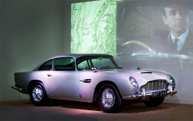 Beaulieu, the National Motor Museum goes 007 Bond in Motion during February Half Term.