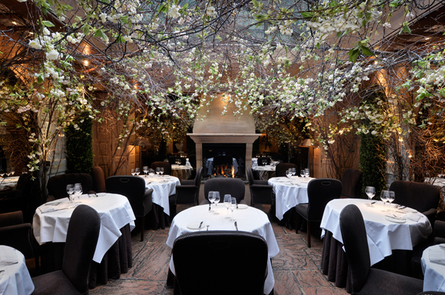Intimate And Fine Dining At London's Clos Maggiore