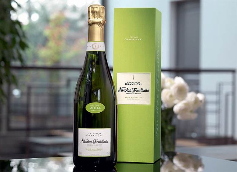 Champagne Nicolas Feuillatte Grand Cru Chardonnay Vintage 2004 review by Simon Wittenberg
