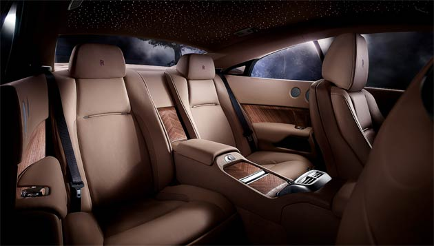 The wait is now over, the super-luxurious Rolls-Royce Wraith has been unveiled.