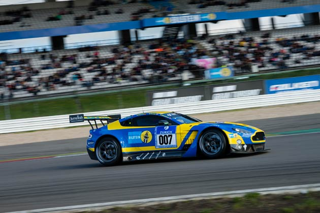 Aston Martin has performed exceptionally well at qualifying at the Nürburgring 24 Hours. The #007 V12 Vantage GT3 secured second place under glorious sunshine in front of thousands of motro-sport fans.