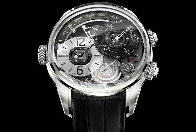The Breva Génie 01 is a stunning new timepiece from Swiss watchmaker Breva that recently was showcased at Baselworld 2013.
