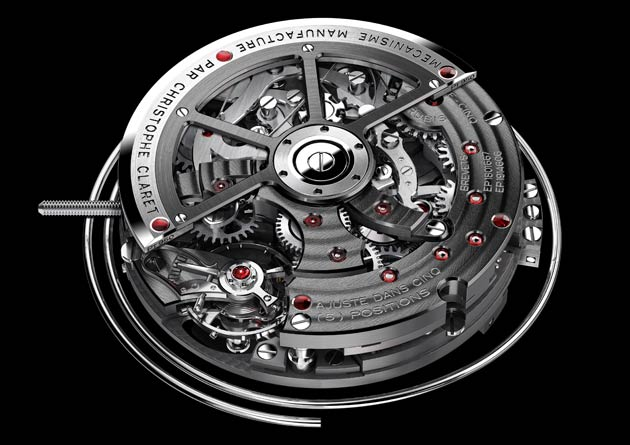 Christophe Claret has equipped the Kantharos with phenomenal Calibre MBA13.