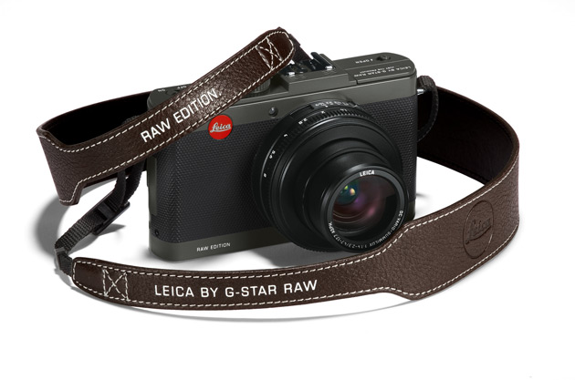 Inspired by the iconic G-Star RAW fashion collection, the new Leica D-Lux 6 'Edition by G-Star RAW' features a timeless and distinctive look
