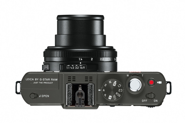 """The technical specification of the Leica D-Lux 6 'Edition by G-Star RAW' is the same as the standard D-Lux 6 and combines a fast lens with a 1/1.7"""" CMOS image sensor that is particularly large for this size of camera."""