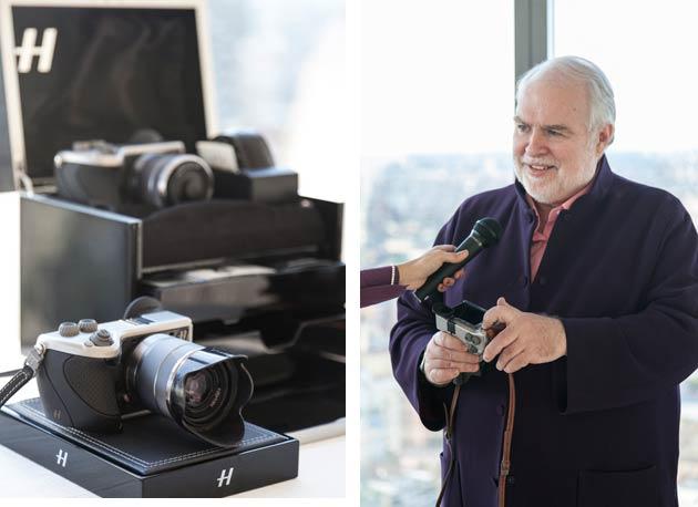 Hasselblad CEO Dr. Larry Hansen