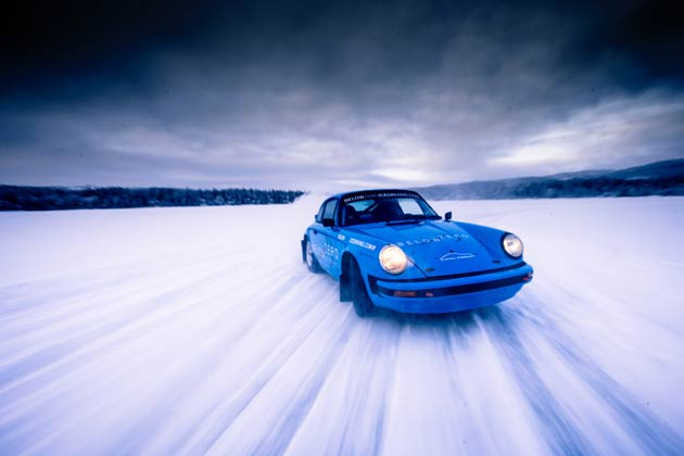 Driving a Porsche 911 on ice is an incredible opportunity that only a handful of people have had the opportunity to experience