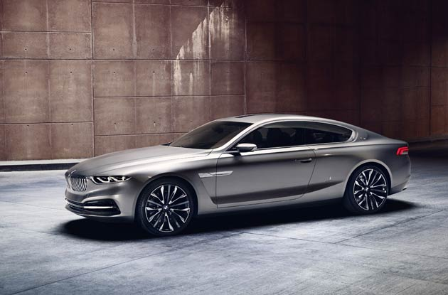 BMWs Pininfarina Gran Lusso Coupé will be at the Pebble Beach Concours d'Elegance.