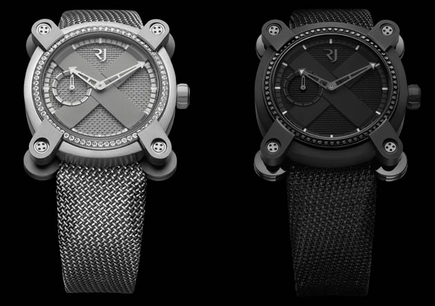 Romain Jerome Dazzles With Diamonds