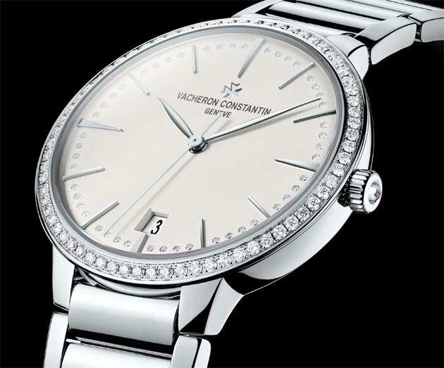 Vacheron Constantin Patrimony Contemporaine small white gold model