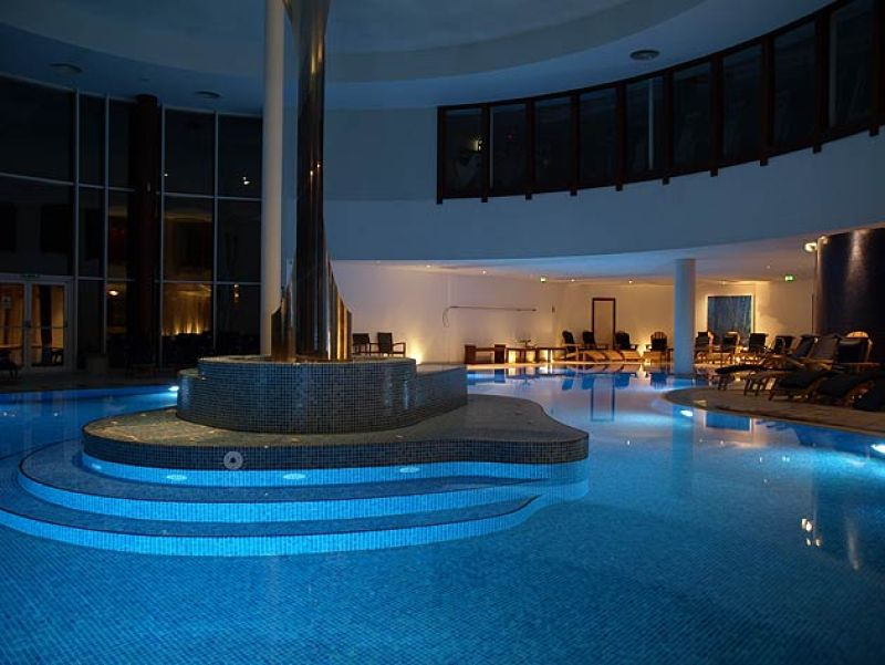 The pool at the Seaham Hall spa