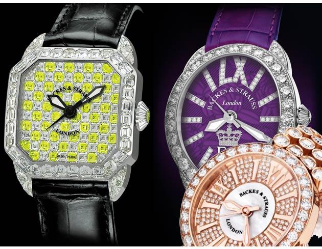 Clockwise: The Backes & Strauss Berkeley Imperial, Regent Diamond Jubilee, The Regent Princess.