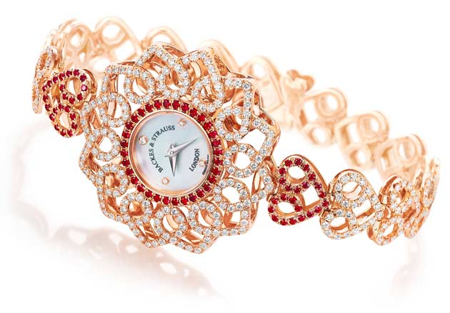 Victoria Princess Red Heart watch