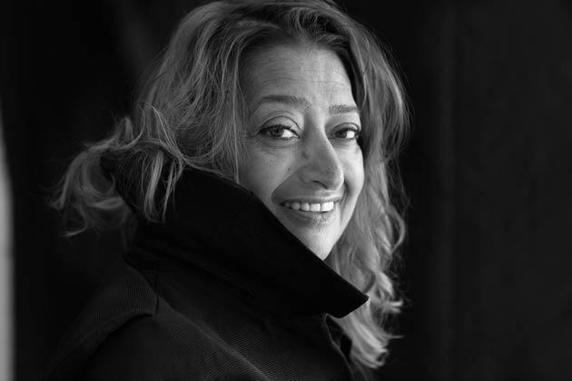 Pritzker prize-winning architect Zaha Hadid