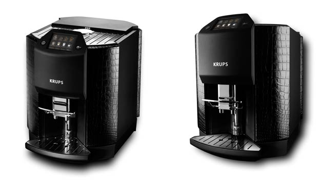 Krups has unveiled a super exclusive £10,000 coffee machine for the distinguished 21st century gentleman