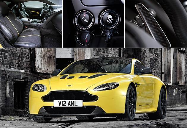 One million stiches in the Aston Martin Vanquish