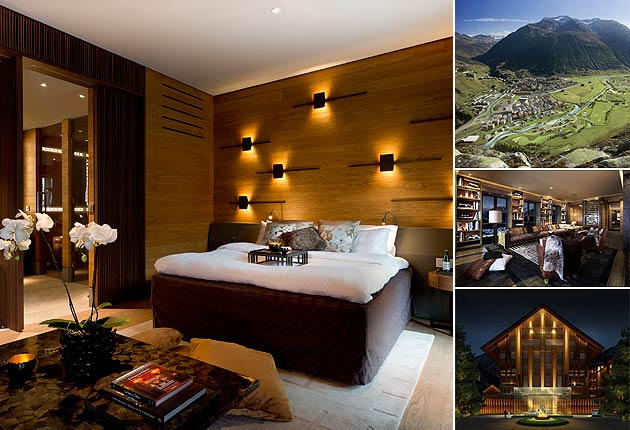 The Chedi Andematt Residences in Switzerland