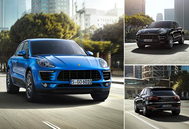 The New Porsche Macan models are unveiled