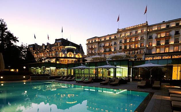 The Captivating Beau-Rivage Palace