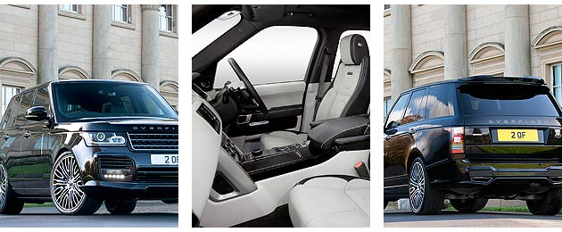 Overfinch, the leading British design house, has unveiled the world's most luxurious SUV, the 2014 Overfinch Range Rover. On-road presence coupled with bespoke interior craftsmanship are the cornerstones of a such a conversion.