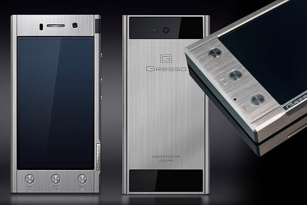 Gresso Goes Radical with New Luxury Smartphone