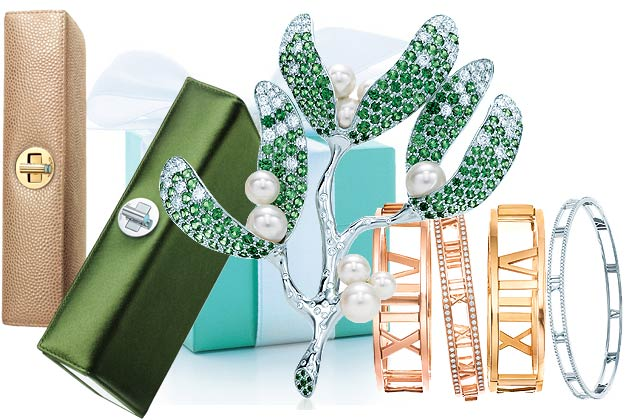 Tiffany's for Christmas – the perfect gifts