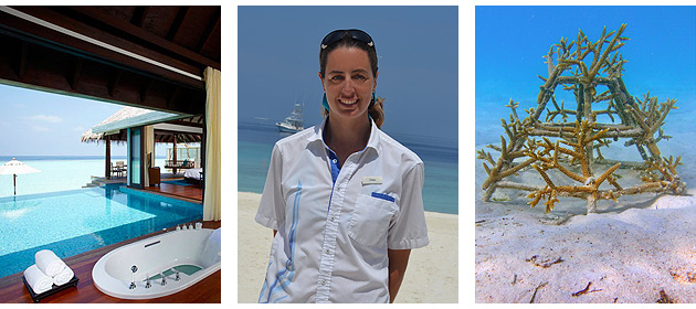 In its commitment to protect the environment, Anantara Kihavah Villas has initiated the Coral Adoption Programme, this is a long-term plan designed to share learning experiences with guests, accelerate the regeneration of coral growth in the atoll reef, and ultimately ensure the future of this unique Maldivian destination