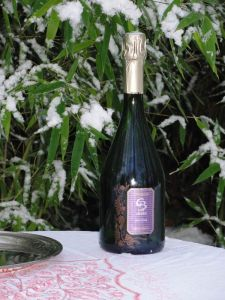 Ambre 2005 was created by France's Champagne Christian Briard to take advantage of the very best of the Marne Valley River grapes harvested during 2005.