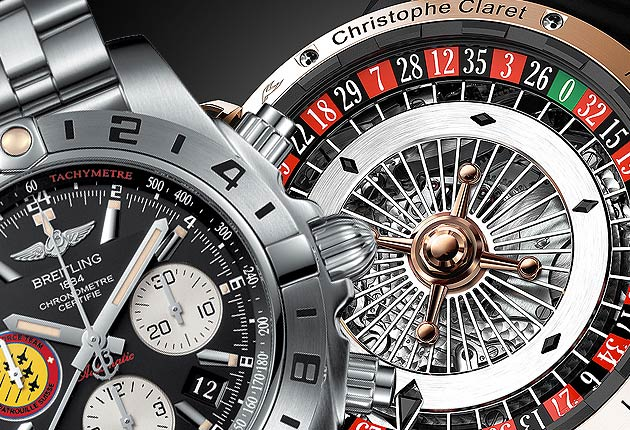 Baselworld 2014 Sneak Peeks - Wrist watches for Gents