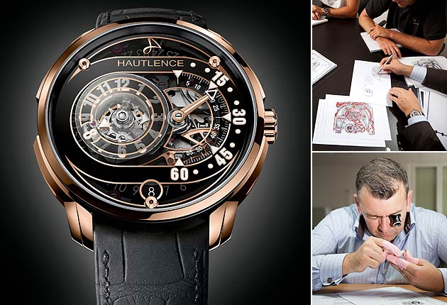 Steve Huyton Discovers The Hautlence HLRQ 01