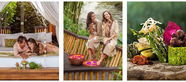 The extraordinary Fivelements, Puri Ahimsa in Bali