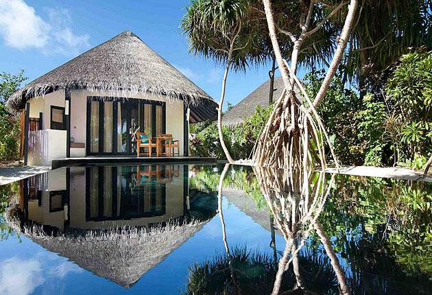 The Sun Siyam Iru Fushi in the Maldives opens its luxurious doors
