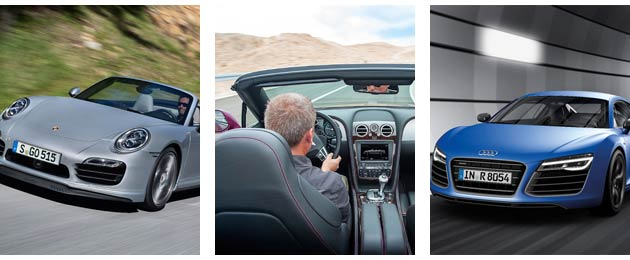 Porsche, Bentley and Audi - First quarter sales figures 2014