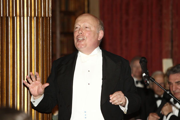 Downton Abbey Charity Evening with Julian Fellowes