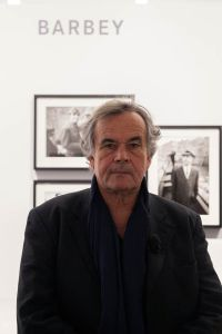 Photographer, Simone Zeffiro Attends the Official Opening of Leica Galerie Milan 5