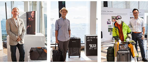 TUMI Announces Two Asia Global Citizens in an Event to Celebrate the TUMI Global Citizens Brand Campaign in Asia 4