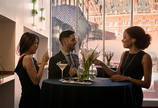 The Views Are Simply Stunning At The Pullman London St Pancras
