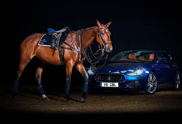 Maserati and La Martina Collaborate on luxury polo saddle