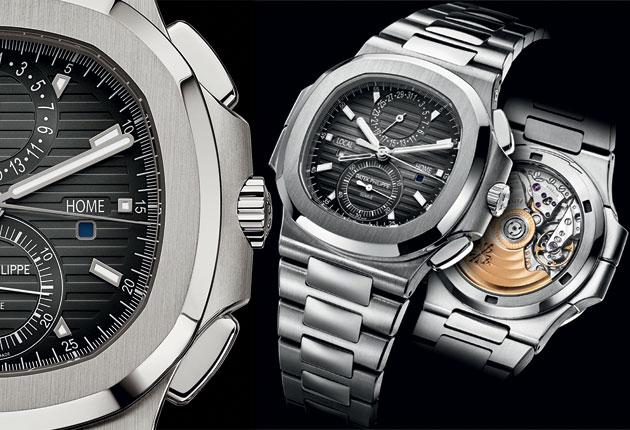 New Timepieces: Patek Philippe Nautilus Travel Time Chronograph
