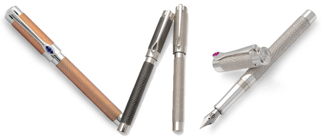 The Jack Row Mirage Collection of luxury pens and cufflinks 3