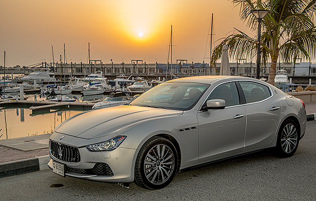 James Hutchinson puts the Maserati Ghibli through its paces in Dubai