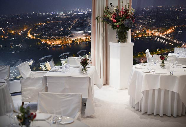 A Michelin Star dining experience at the Rembrandt Tower Boardroom