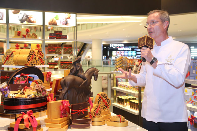 Sampling the delectable goodies on offer from Godiva Chocolates in Kuala Lumpur