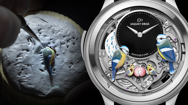 The Bird Repeater Openwork by Jaquet Droz