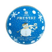 Prestat Snowman Bauble with Snowball Coconut Truffles