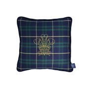 Timothy Oulton Traditional Tartan Crest Cushion
