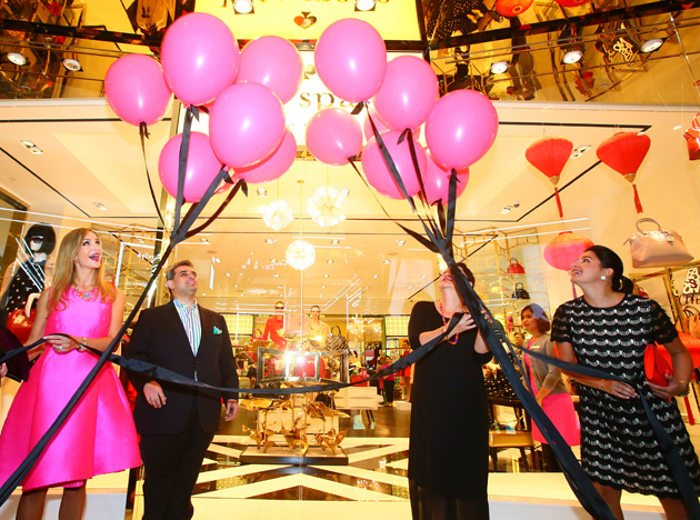 Ong Chin Huat attends the opening of Kate Spade's latest shop in Pavilion Kuala Lumpur