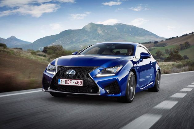 Luxurious Magazine road tests the new Lexus RC F