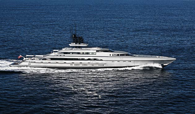 Silveryachts to appear at the 2015 Singapore Yacht Show and will debut the 77m Silver Fast Superyacht: Image by Klaus Jordan